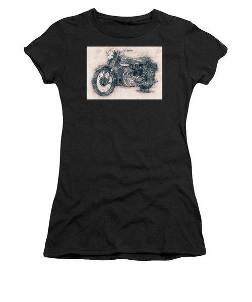 Ariel Square Four - 1931 - Vintage Motorcycle Poster - Automotive Art Women's T-Shirt