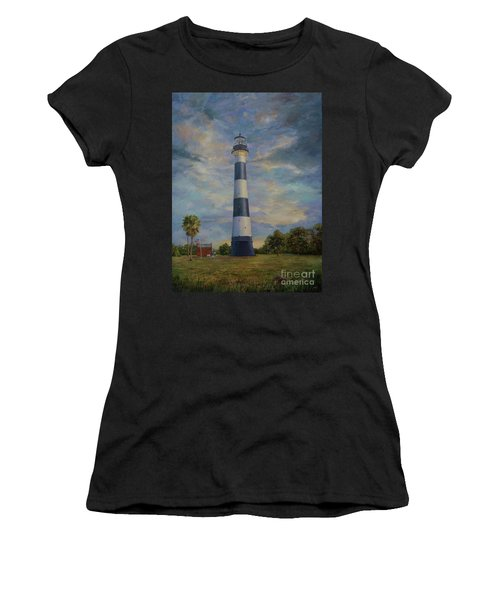 Armadillo And Lighthouse Women's T-Shirt