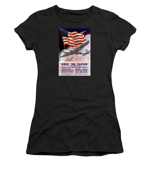 Army Air Corps Recruiting Poster Women's T-Shirt
