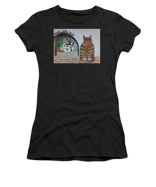 Arneson Theatre Cat Women's T-Shirt (Athletic Fit)