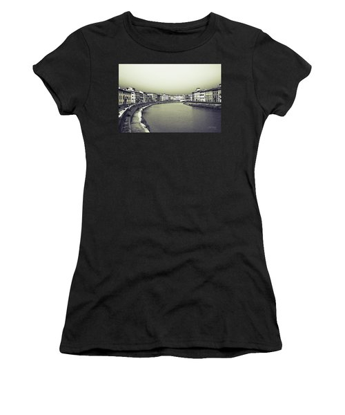 Women's T-Shirt (Athletic Fit) featuring the photograph Arno II by Joseph Westrupp