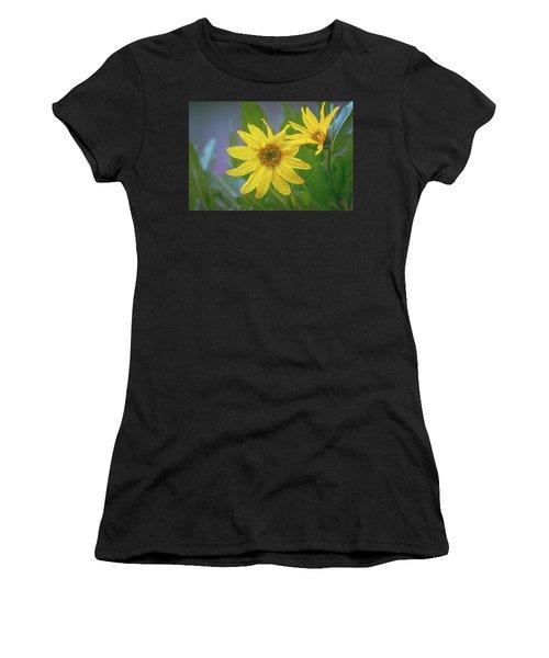 Women's T-Shirt featuring the photograph Arrowleaf Balsamroot by Jason Coward