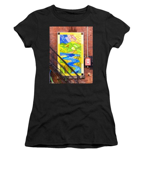 Art And The Fire Escape Women's T-Shirt