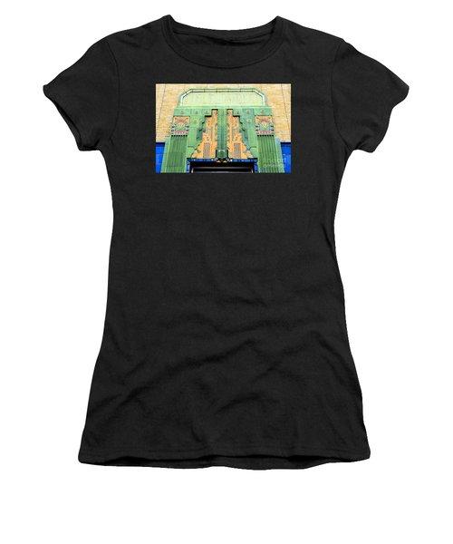 Art Deco Facade At Old Public Market Women's T-Shirt (Athletic Fit)