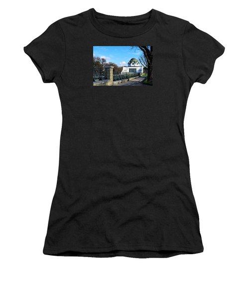 Art Deco Pavillon Women's T-Shirt (Junior Cut) by Christian Slanec