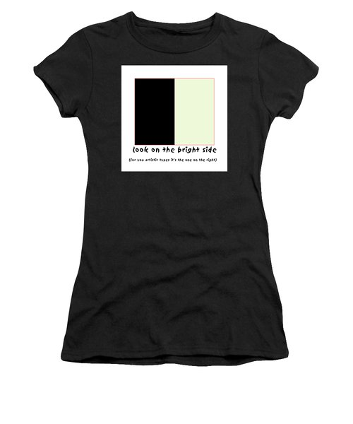 Art Poster Women's T-Shirt (Athletic Fit)