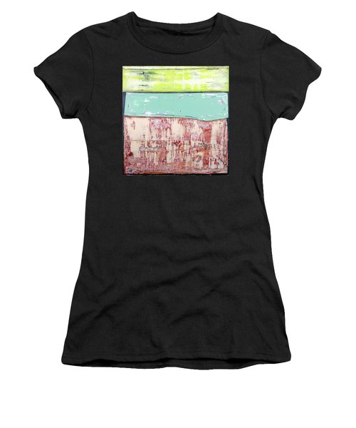 Art Print Abstract 19 Women's T-Shirt (Athletic Fit)