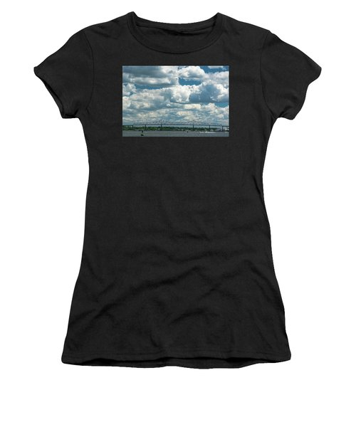 Arthur Kill And Outerbridge Crossing Women's T-Shirt (Athletic Fit)