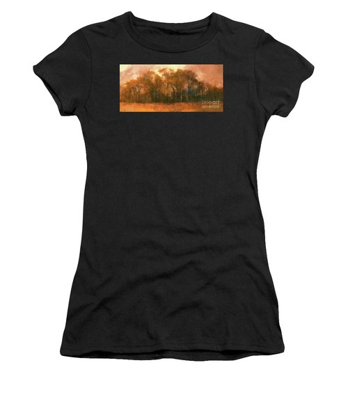 Artistic Fall Colors In The Blue Ridge Fx Women's T-Shirt (Athletic Fit)