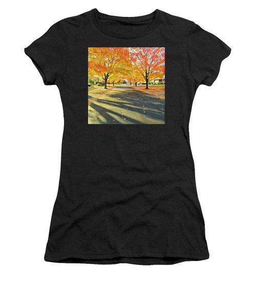 Women's T-Shirt featuring the photograph Artistic Tulsa Street by Robert Knight