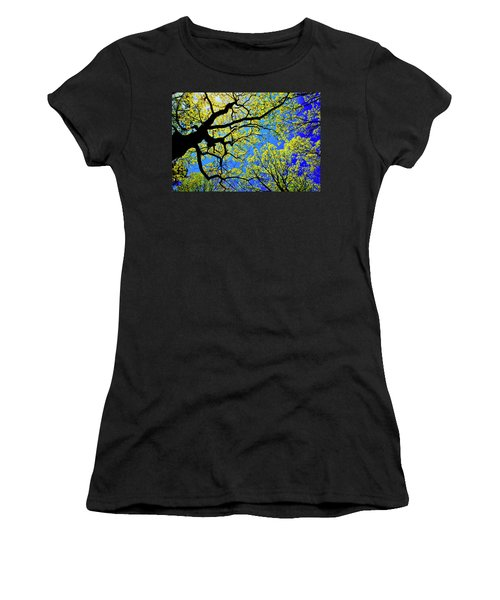 Artsy Tree Canopy Series, Early Spring - # 01 Women's T-Shirt