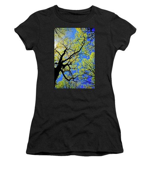 Artsy Tree Canopy Series, Early Spring - # 02 Women's T-Shirt