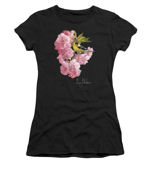 Spring Blossoms Women's T-Shirt (Athletic Fit)