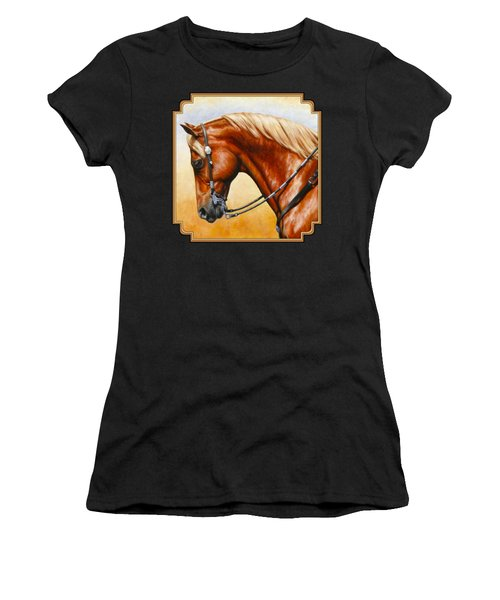 Precision - Horse Painting Women's T-Shirt