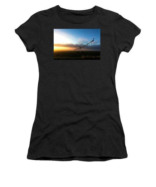 Sunrise Sprinkler Women's T-Shirt (Athletic Fit)