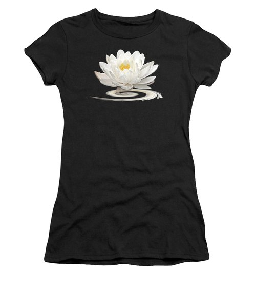 Inner Glow - White Water Lily Women's T-Shirt