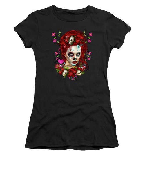 Sugar Doll Red Women's T-Shirt
