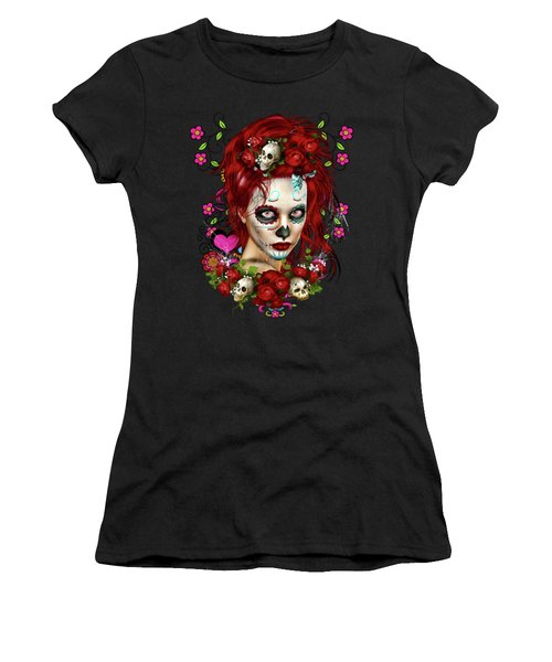Sugar Doll Red Women's T-Shirt