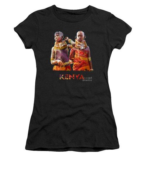 Young Turkana Girls Women's T-Shirt
