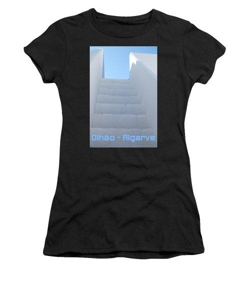 Mediterranean Staircase Women's T-Shirt