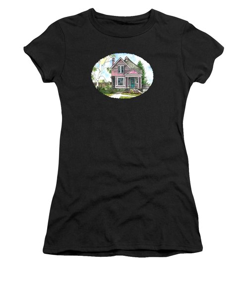 The Violet Lady In Spring Women's T-Shirt