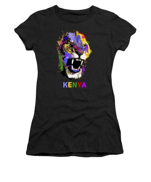 Cat Snarl Women's T-Shirt