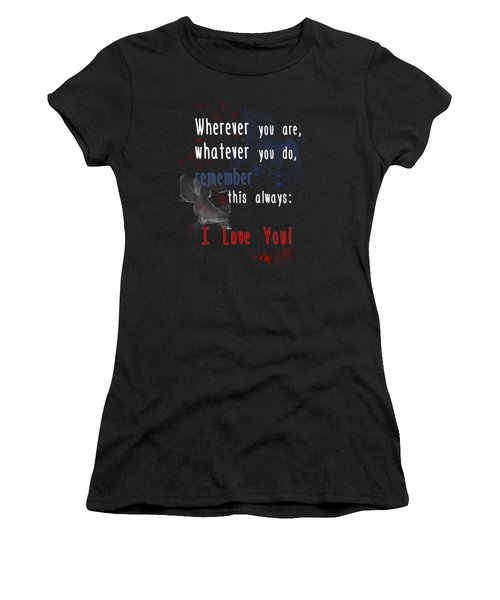 Wherever You Are Women's T-Shirt (Athletic Fit)