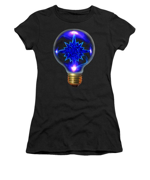 A Bright Idea Women's T-Shirt (Junior Cut) by Shane Bechler