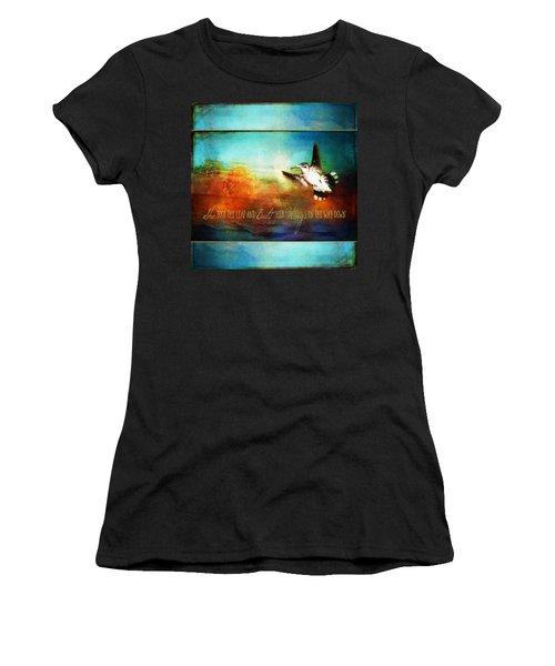 She Built Her Wings Women's T-Shirt