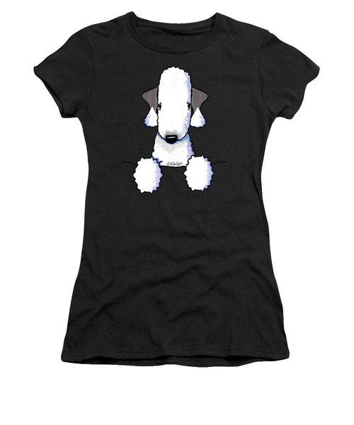 Bedlington Terrier Women's T-Shirt (Athletic Fit)