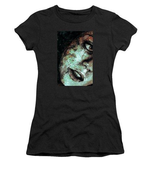 Chase My Blue Away - Rust Women's T-Shirt