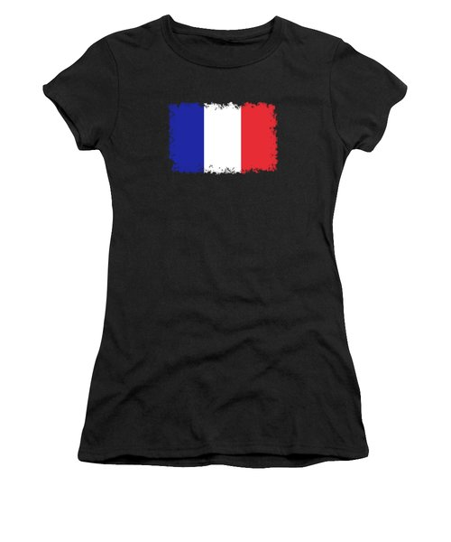 Flag Of France High Quality Authentic Image Women's T-Shirt