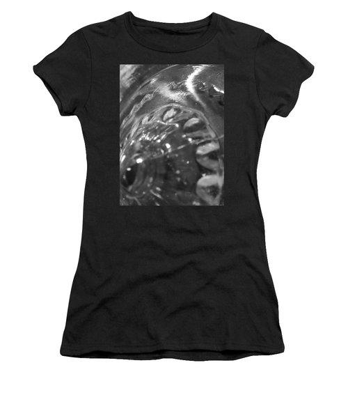 Metallic Glass Women's T-Shirt (Junior Cut) by Samantha Thome