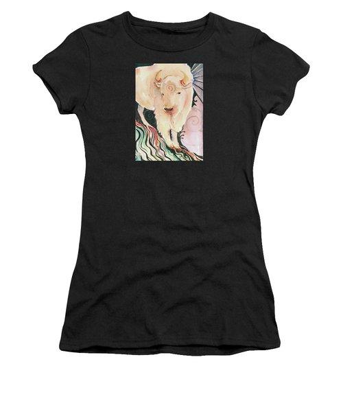 Spirit Buffalo Women's T-Shirt (Athletic Fit)