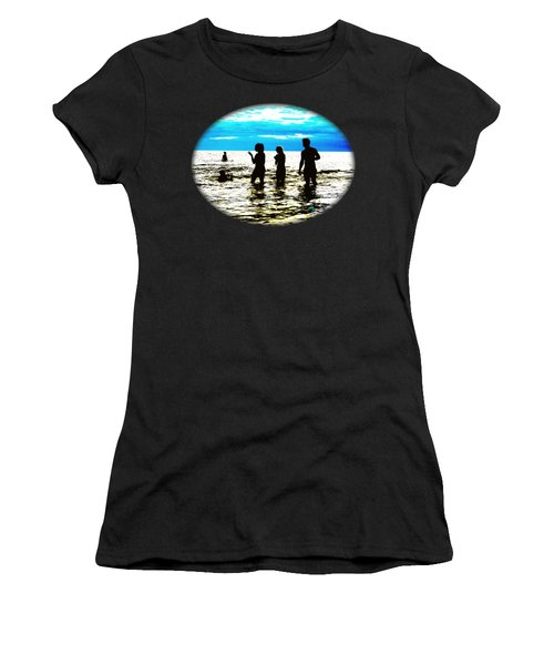 Hot Night At The Beach Women's T-Shirt (Athletic Fit)