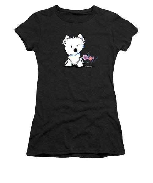 Kiniart Flower Ninja Women's T-Shirt