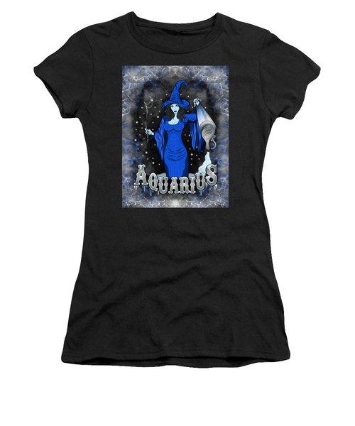 The Water Bearer Aquarius Spirit Women's T-Shirt (Athletic Fit)
