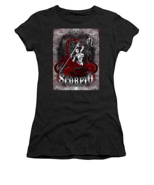The Scorpion Scorpio Spirit Women's T-Shirt (Athletic Fit)