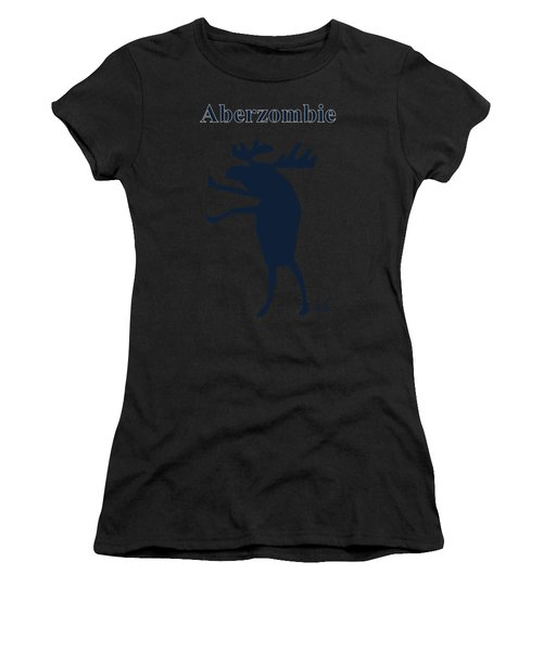 Aberzombie Women's T-Shirt (Athletic Fit)