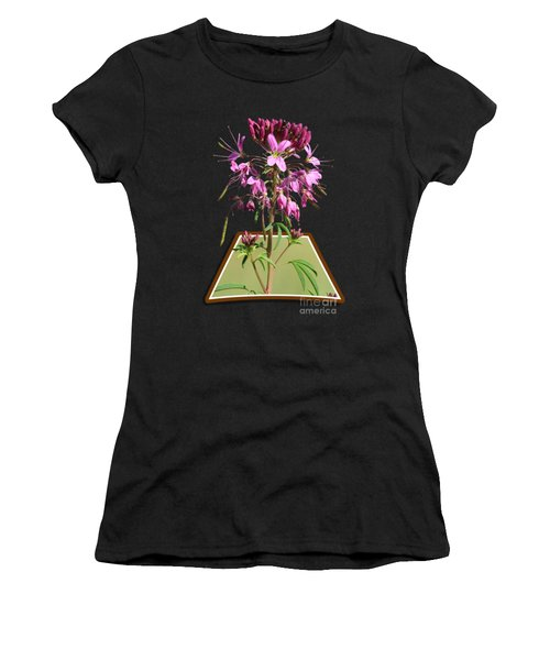 Rocky Mountain Bee Plant Women's T-Shirt (Athletic Fit)