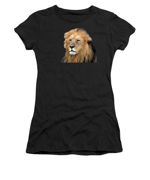 Masai Mara Lion Portrait    Women's T-Shirt