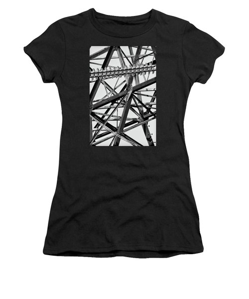 What's Your Angle Women's T-Shirt (Athletic Fit)