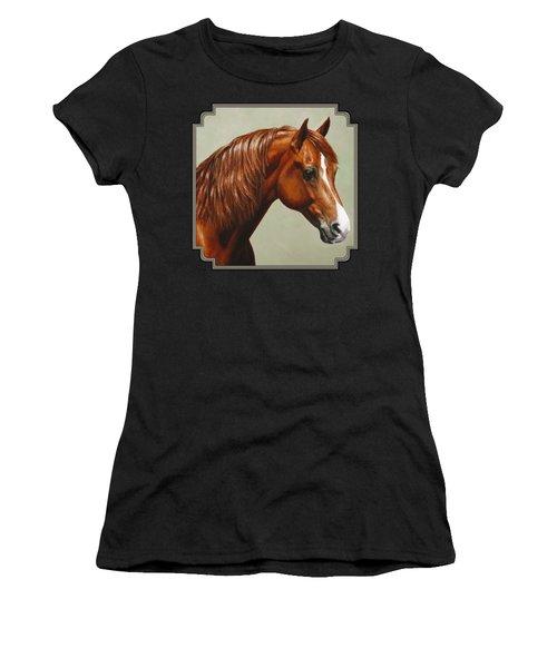 Morgan Horse - Flame Women's T-Shirt