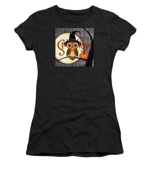 Spooky Owl Women's T-Shirt