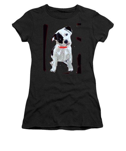 Dog Doggie Red Women's T-Shirt