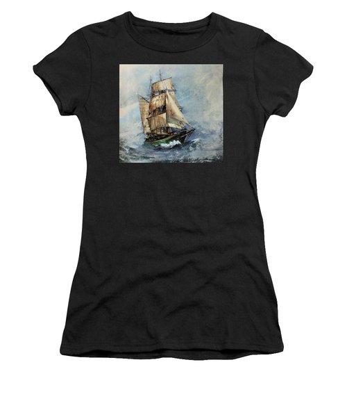 F 827 Asgard Storm Off Galway. Women's T-Shirt