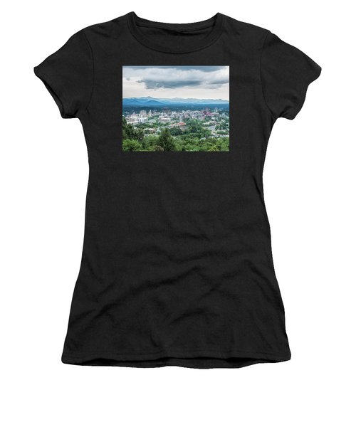 Asheville Afternoon Cropped Women's T-Shirt