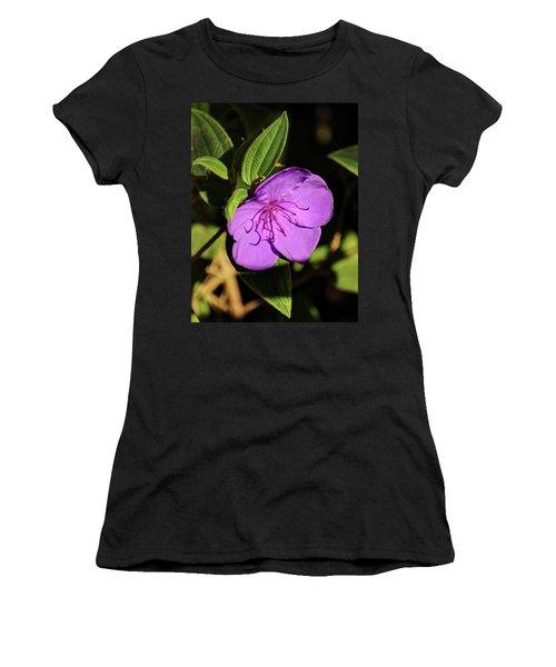 Asian Melastome Women's T-Shirt (Athletic Fit)