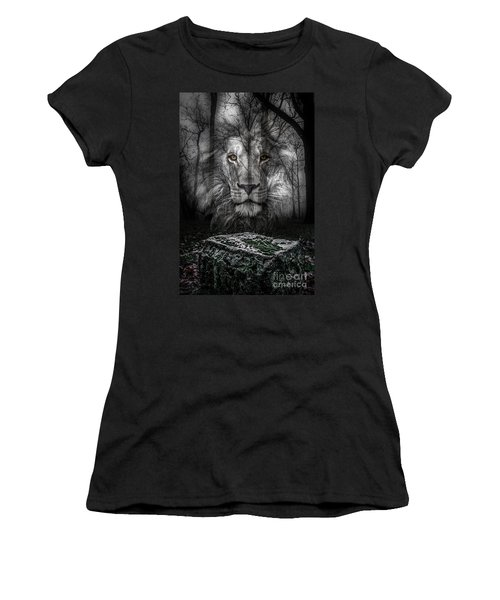 Aslan And The Stone Table Women's T-Shirt