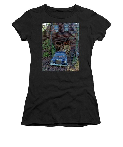 Asleep At The Wheel Women's T-Shirt (Athletic Fit)